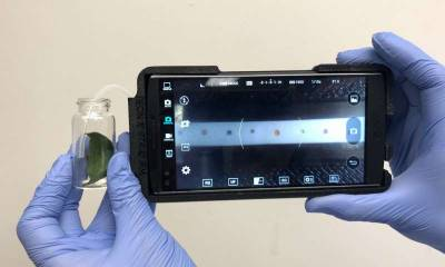 Портативний пристрій для смартфонів, що дозволяє своєчасного виявляти хвороби рослин
