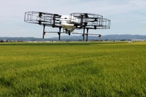 Дроны — новые помощники стареющим фермерам Японии
