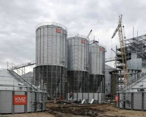 """KMZ Industries виграв тендер на монтаж 32 силосів для """"Кернелу"""""""