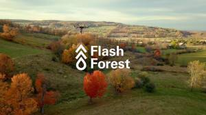 Дроны стартапа Flash Forest высадят миллиард деревьев к 2028 году