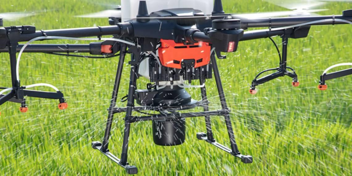 Квадрокоптер Agras T20 – новий сільськогосподарський флагман DJI в Європі