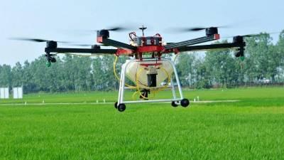 В США испытали новый дрон для внесения гербицидов