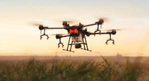 DJI Agras T16 — новий дрон для обприскування полів