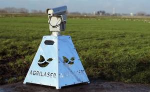 Лазер для отпугивания птиц уменьшит потери урожая