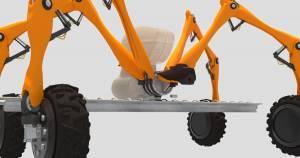Автономний робот, який знищує бур'ян за допомогою електроенергії