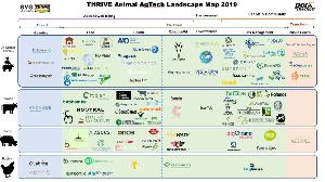 Animal Agtech MarketMap: актуальные направления инноваций в животноводческой отрасли