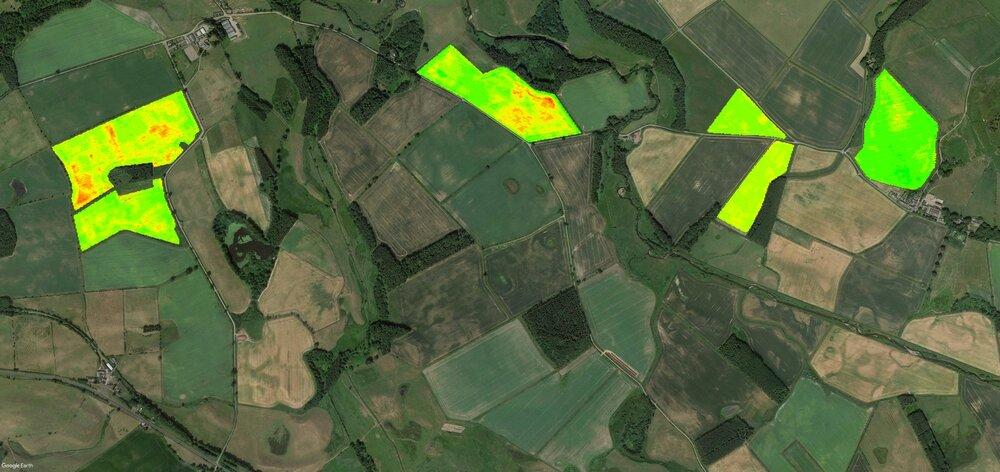 Тестирование платформы для мониторинга полей EOS Crop Monitoring