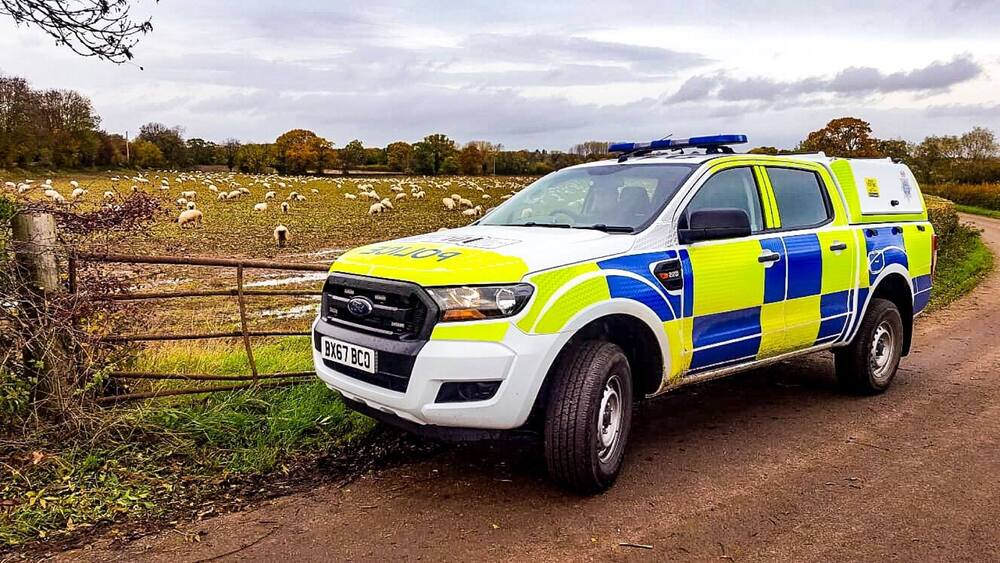 В Великобритании преступники используют беспилотники для краж скота и техники у фермеров