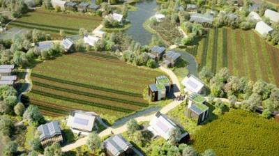 В Нидерландах создается инновационная экодеревня