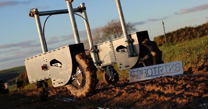 Robotriks — недорога роботомашина для польових робіт