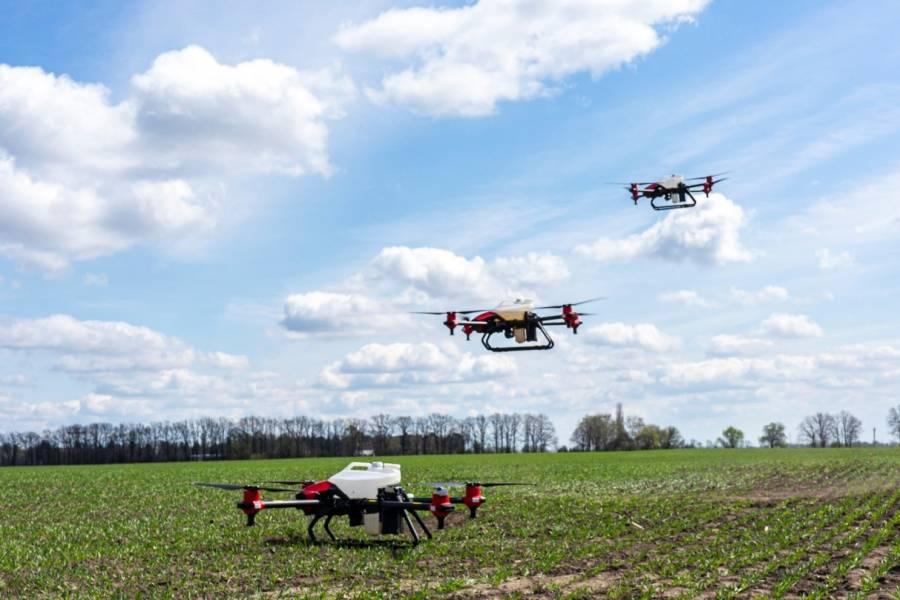 XAG сприятиме створенню в Україні автономних ферм з дронами
