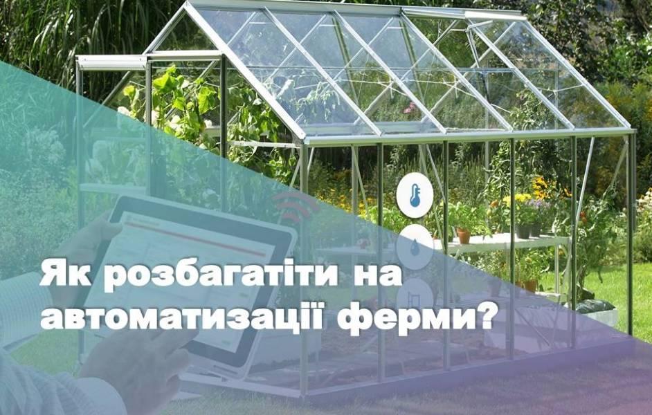 Як розбагатіти на автоматизації ферми?