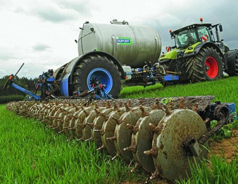 Технология внесения жидких азотных удобрений Cultan