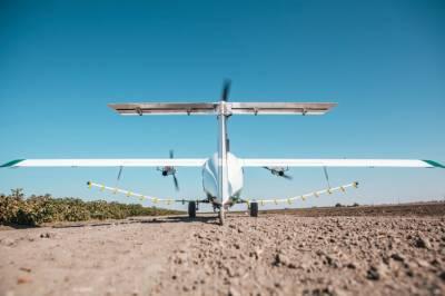 Egret — дрон для обприскування полів