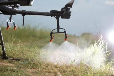 Внесение СЗР с помощью дронов опрыскивателей. Опыт компании Drone.ua