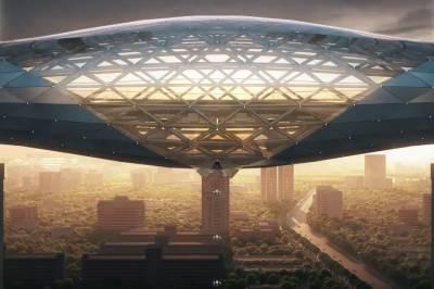 Мост в небо: дизайн нового футуристического офиса DJI