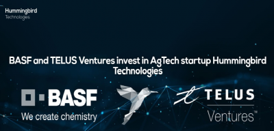 Hummingbird Tech — британський стартап, у який інвестували провідні компанії BASF Venture Capital і канадська TELUS Ventures