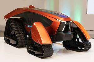 Kubota створила модель автономного трактора