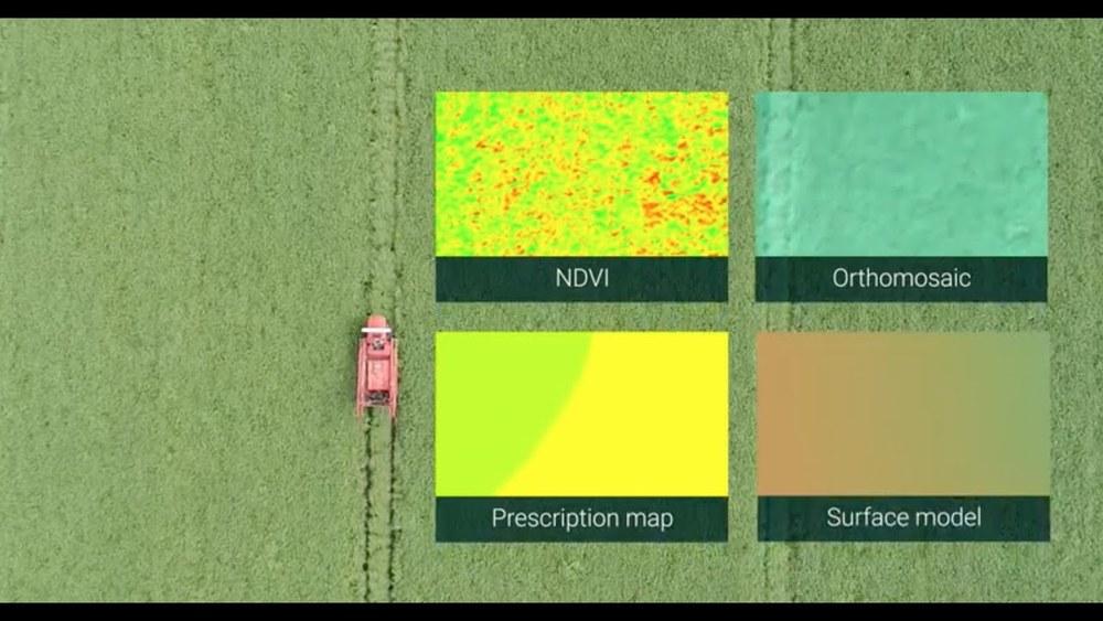 Карты с геопространственной привязкой данных в растениеводстве