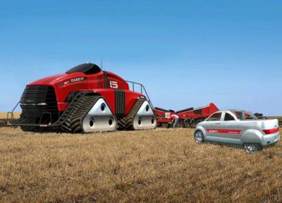 Самые необычные трактора-прототипы