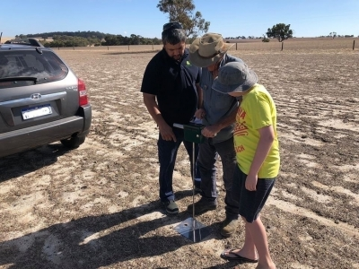 Фермеры из Австралии похвастались украинским плотномером почвы (обновлено)