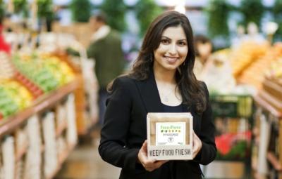 Freshpaper — специальная бумага, позволяющая сохранить продукты свежими до 4 раз дольше