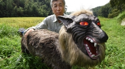 """Японцы превратили чудовище из сериала """"Черное зеркало"""" в агроробота"""