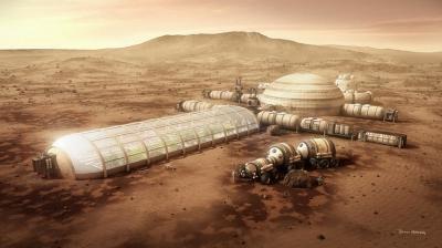 Как будет выглядеть марсианская ферма