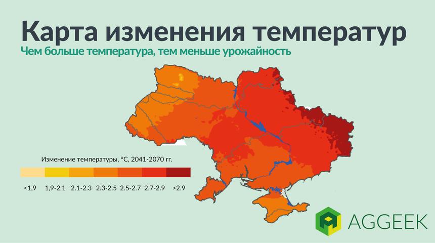 Как изменение климата повлияет на украинский урожай пшеницы