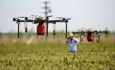 Китай субсидирует использование дронов в сельском хозяйстве