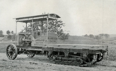 Странные и экзотические трактора начала 20 века
