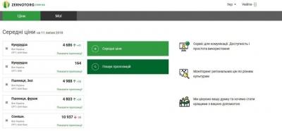 Новая онлайн площадка для торговли зерном в Украине