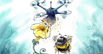 Пчелодрон — будущее искусственного опыления