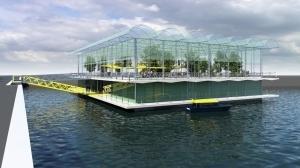 Плавающая ферма — решение проблемы недостатка земли?