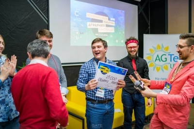 Проект Organic Portal переміг на Всеукраїнському хакатоні агроінновацій 2018