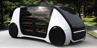 Robomat — беспилотный торговый автомат