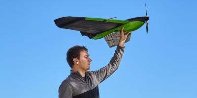 Sentera Phoenix — дрон, который может снять более 300 га за один полет