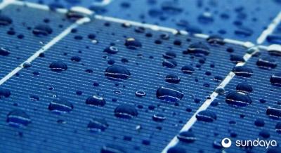 В Китае солнечную панель научили получать энергию от дождя