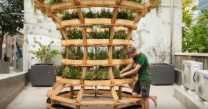 Датская лего-система превращает городские закоулки в фермы