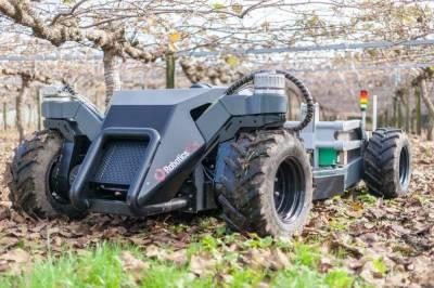 Роботы для работы с фруктами компании Robotics Plus