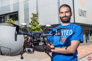 Почему над полями не видно дронов