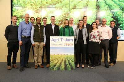 ТОП-10 стартапів Tesco Agri T-Jam 2019