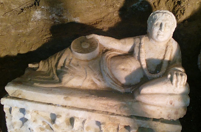 Гробница этрусков