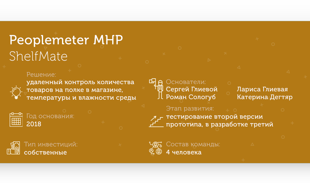 Skillset ShelfMate Peoplemeter MHP