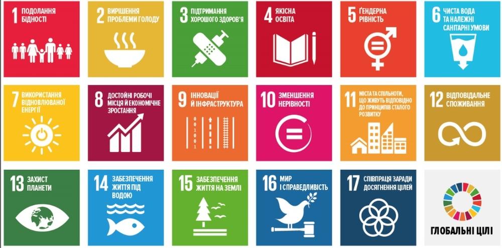 17 целей сталого развития