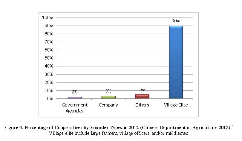 Большинство кооперативов организовано местной сельской элитой