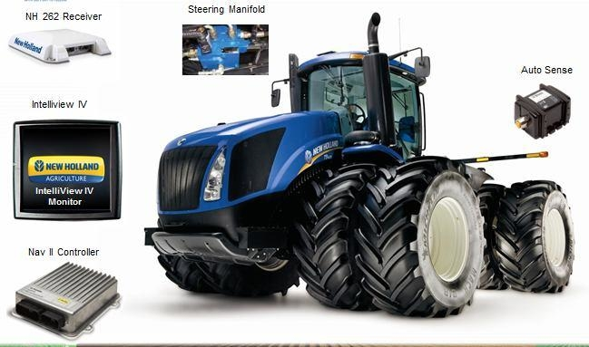 Комплект навигации для трактора New Holland