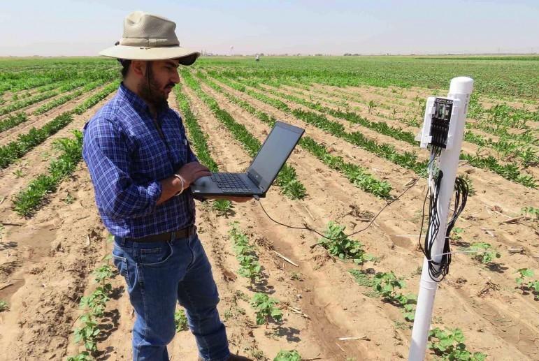 Ноутбук — помощник агронома