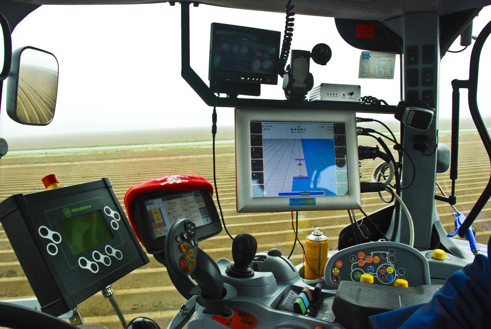 ПО и приборы для техники точного земледелия